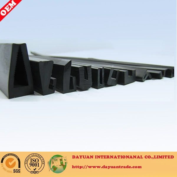 Container rubber seal strip