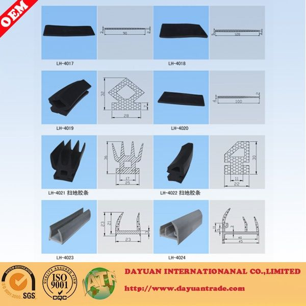 Oven Door/Cold Storage Door rubber sealing strip