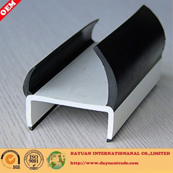 Container door rubber sealing strip