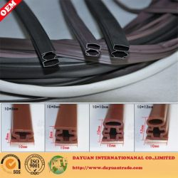 Security Glass Door Rubber Sealing Strip
